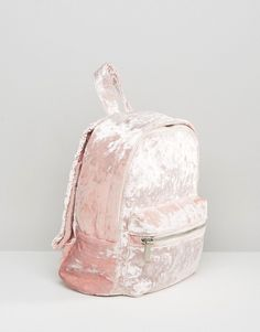 SHOP | Backpacks are better in pink velvet