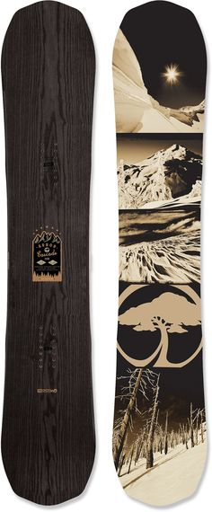 Arbor Cascade Snowboard - 2013/2014 at REI.com this may be one of my favorite designs ever on a board.
