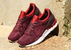 "d1b37268b2f1ca  sneakers  news ASICS GEL-Lyte V ""Rioja Red"" Gel Lyte 5"