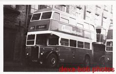 Bus Photo Bradford City Transport 413 AEC Regent III HLW164 London Transport RT | eBay