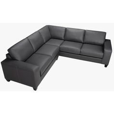 The Paulina grey Italian leather sectional sofa is handcrafted using time-honored Old World techniques. This furniture features premium Italian leather and a durable hardwood frame.