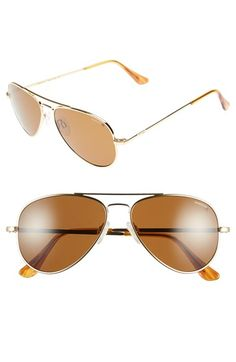 f8a5a2e5b9 Men s Randolph Engineering  Concorde Classic  57mm Polarized Sunglasses -  Gold  Tan Randolph Engineering