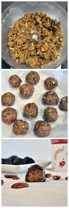 All you need is 5 simple ingredients to make these healthier pecan caramel truffles. Vegan, gluten free and paleo approved. The perfect healthy dessert.