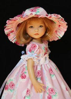"Forever Rose OOAK Outfit for Effner 13"" Little Darling by Glorias Garden | eBay"