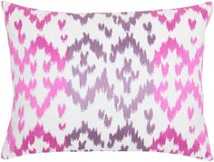 Blissliving Home Ikat Orchid Pillow on shopstyle.com