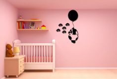 Wall Stickers Vinyl Decal #Nursery for #Kids #Bear Balloon Bees ig587
