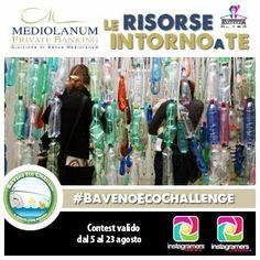 'Le risorse intorno a te' è un #contest #fotografico dedicato al #riciclo che si apre oggi su #Instagram  Se hai idee originali su come i rifiuti si possono trasformare in risorse, posta la tua foto e con i tag #bavenoecochallenge e #igersitalia Hai tempo fino al 23 Agosto!!!