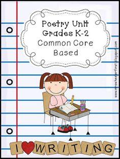 Mrs. Wheeler's First Grade Tidbits: I love poetry!!!!