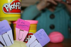 Your Mind is Your Playdough! A lesson in positive self-talk.