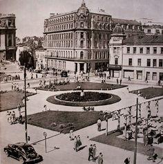 """1953 Casa Capșa devenise """"București""""- restaurant de stat Little Paris, Bucharest Romania, Belle Epoque, Old Pictures, Time Travel, Old Town, Modernism, Places To Visit, Mansions"""
