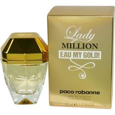 PACO RABANNE LADY MILLION EAU MY GOLD! by Paco Rabanne EDT SPRAY 1.7 OZ