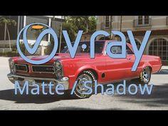 Vray 3.5 Matte Shadow IPR