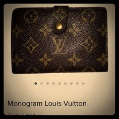 "Vintage Louis Vuitton ""French Kiss Wallet "" Vintage Louis Vuitton wallet Louis Vuitton Bags Wallets"