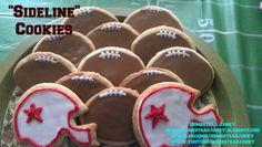 """""""Sideline"""" Sugar Cookies www.homesteadjunky.blogspot.com www.facebook.com/homesteadjunky www.youtube.com/homesteadjunky"""
