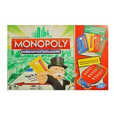 Monopoly Electronic Banking - Bankkártyás társasjáték