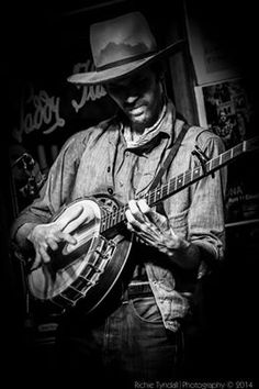 Willie Watson with banjo.