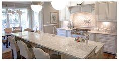 Berwyn™ Cambria Quartz Countertops in Majestic Kitchen - MARVA Marble and Granite