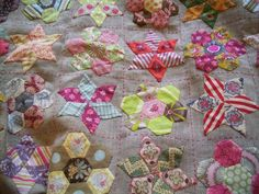 What an amazing way to use up little scraps.