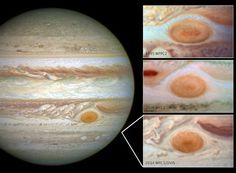 NASA: Jupiter's Great Red Spot is Shrinking