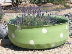 FINDERS KEEPERS: upcycled tire planters