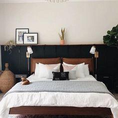Scandi Living, My New Room, Home Bedroom, Room Inspiration, House Design, Interior Design, Furniture, Black Bedrooms, Master Bedrooms