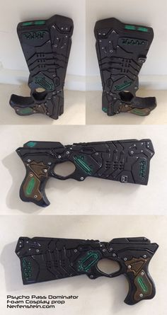 Psycho Pass Dominator prop pistol from foam - Prop commission.