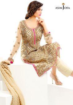Asim Jofa Luxury Pret Formal Wear Dresses Designs 2017-2018 Collection