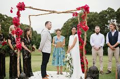 Jess + Matt's Byron Bay wedding was a luxe bohemian love-fest rich with colour, texture and beautiful details. Byron Bay Weddings, Love Fest, Real Weddings, Wedding Planning, Bohemian, Arches, Beautiful, Color, Style