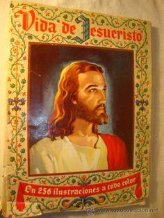ALBUM DE CROMOS ORIGINAL COMPLETO VIDA DE JESUCRISTO AÑO 1956 - EDITORIAL BRUGUERA