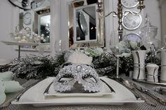#Christmas table setting by inart! #christmasdecor www.inart.com