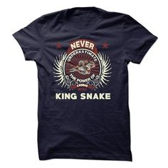 Never Underestimate A Women With A king snake T-Shirts, Hoodies (19$ ==► Order Shirts Now!)