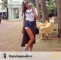 Giulia Gaudino #super #blogger #shopart #look #collection #adorage #style #springsummer15 #shopartonline #shopartmania #superwow