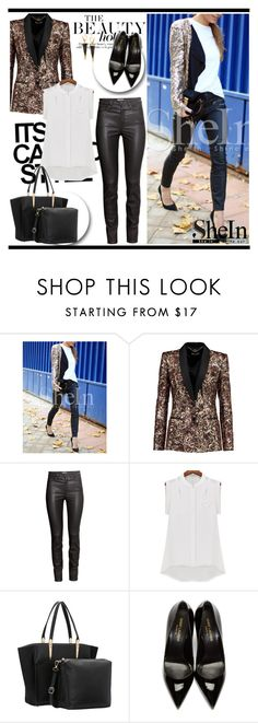 """""""Shein 10 (24)"""" by alejla ❤ liked on Polyvore featuring Just Cavalli, H&M, Yves Saint Laurent, Lana and shein"""