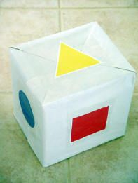 Roll those Big Dice! – Toddler Activities, Games, Crafts  Great activity to teach children about shape recognition.