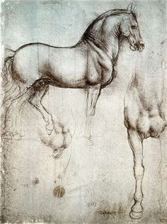 In 1482 Leonardo da Vinci was commissioned by the Duke of Milan, Ludovico Il Moro, to produce a sculpture of a horse. It was intended to be the largest equestrian statue in the world, and a monument to the duke's father, Francesco.  About five centuries later, Leonardo's surviving design materials were used as the basis for sculptures intended to bring the project to fruition.