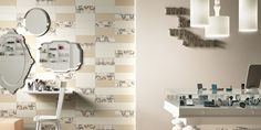No 1565 Subtle patterned wall tile