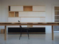 The alphabeth for good living Decor, Office Desk, Interior, Wood, Home Decor, Desk, Corner Desk, Furniture