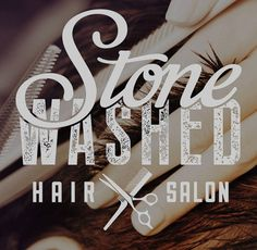 Being stylish as always, we just trimmed up the NEW Branding & Website for Stone Washed Hair Salon. Check them out at www.StoneWashedSalon.com