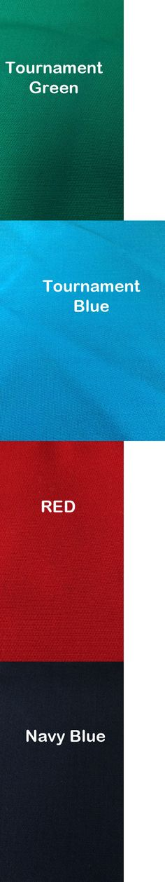 Other Billiards Accs and D cor 21210: New Tournament Grade Worsted Pool Table Cloth 7Ft Table Billiard Felt Many Color -> BUY IT NOW ONLY: $129.99 on eBay!