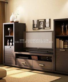 Bufet TV Minimalis Model Lemari Hias