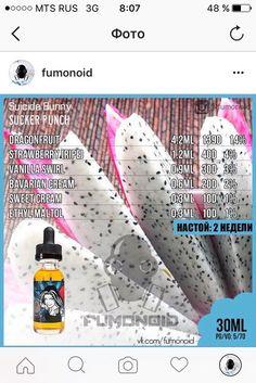 Fumonoid   Самозамес   Vape   Рецепты's photos