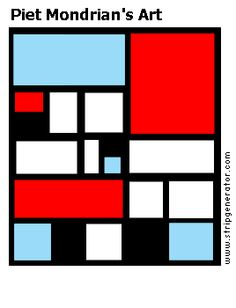 piet mondrian paintings | Piet Mondrian's Art