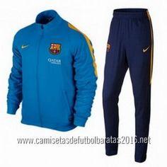 Nike Chaqueta Azul Barcelona 2015 €33.0 Camiseta Seleccion 199e6640562