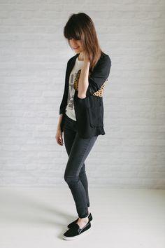 OUTFIT DEL DÍA: Black blazer outfit - Look con blazer negra