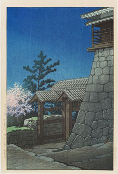 Tonashi Gate at Matsuyama Castle