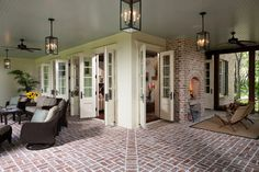 Tanglewood - Black Banks - traditional - porch - atlanta - by Thomas Thaddeus Truett Architect