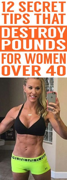 Gaining weight as you get older? Finding it harder to lose pounds? Don't worry, these 12 experts tips are super effective for weight loss in women over 40!