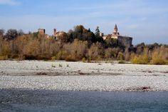 il fiume Trebbia a Cà Buschi