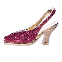 15 best shoe business card holders images on pinterest business red high heel shoe business card holder swarovski crystals gold colourmoves