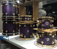 Purple to Black Burst Satin Specialty